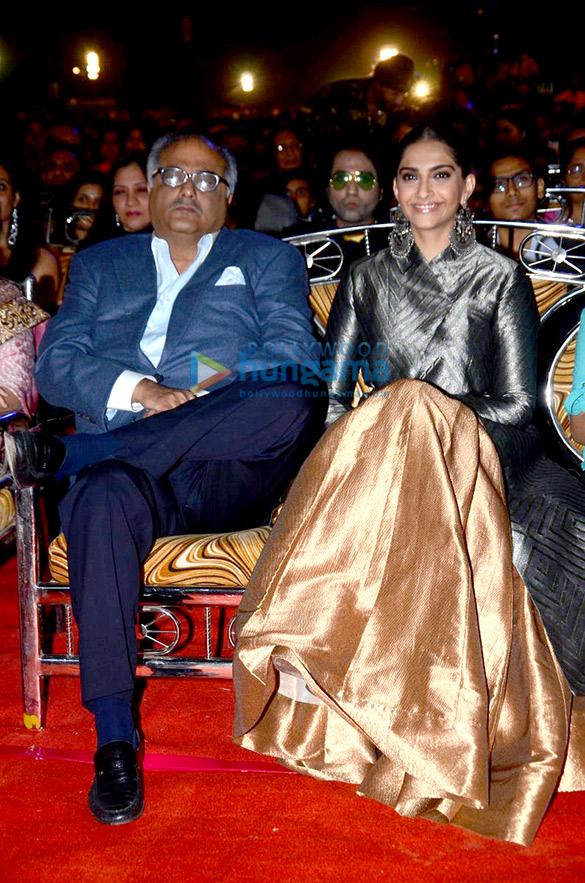 Boney Kapoor, Sonam Kapoor