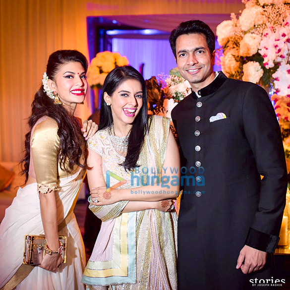 Celebs grace grand reception of Rahul Sharma & Asin in Mumbai