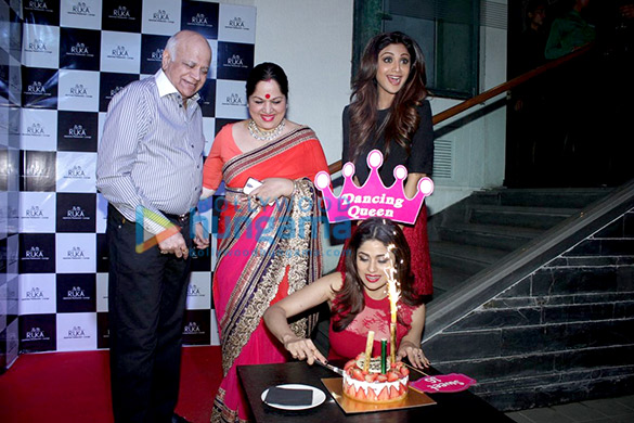 Shamita Shetty's birthday celebrations
