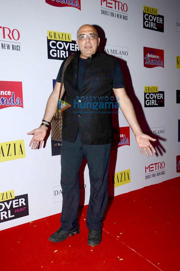 Aditi Rao Hydari, Monica Dogra & Tarun Tahiliani at 'Grazia Cover Girl Hunt'