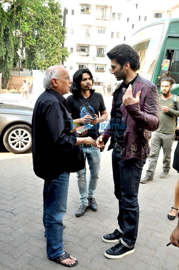 Mahesh Bhatt, Aditya Roy Kapur