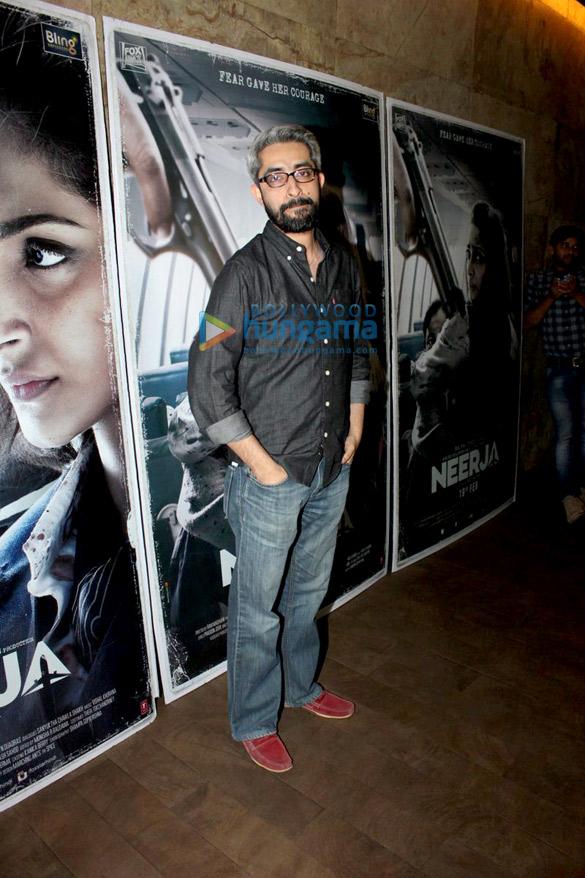 Aamir Khan, Hrithik Roshan & others at the special screening 'Neerja'