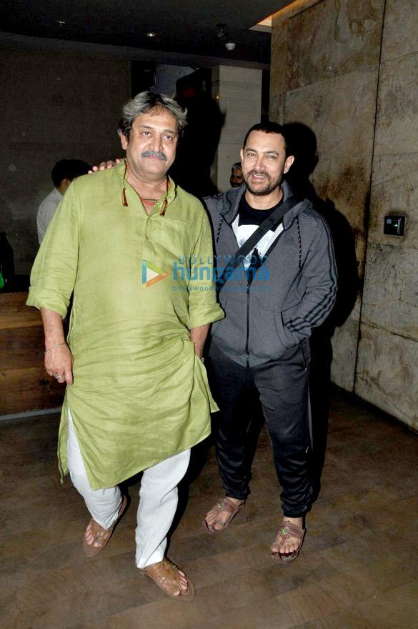 Mahesh Manjrekar, Aamir Khan