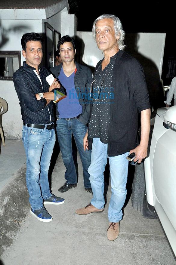 Manoj Bajpayee, Rahul Bhatt, Sudhir Mishra