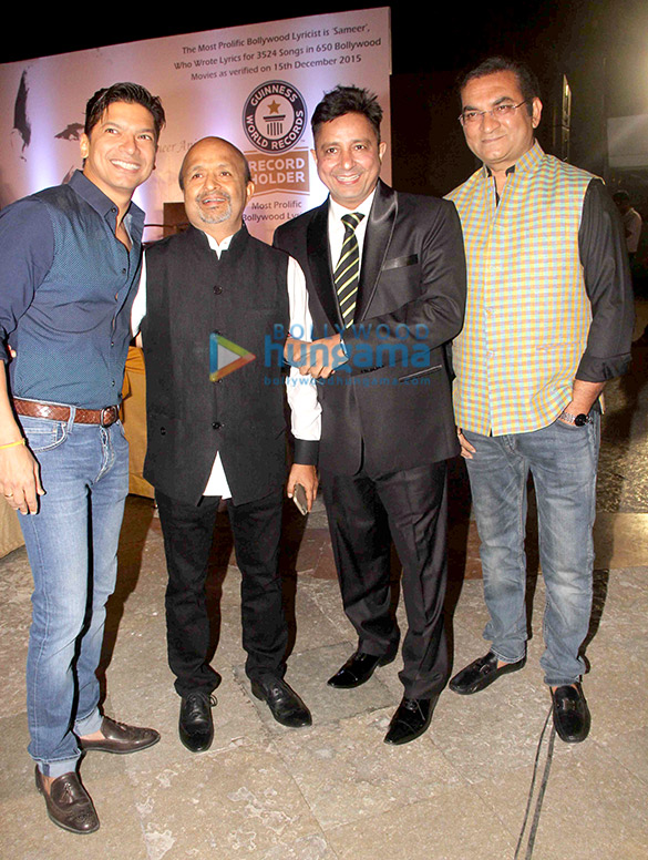 Sameer felicitated by Guinness World Records