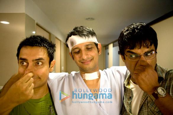 Aamir Khan, Sharman Joshi, R Madhavan