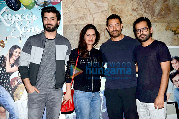 Aamir Khan, Anushka Sharma and others attend 'Kapoor & Sons' screening