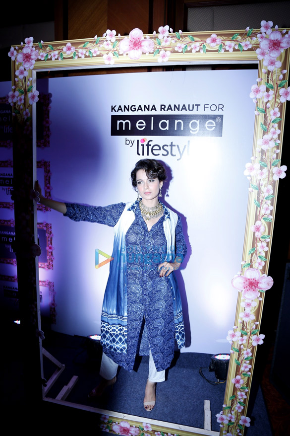 Kangna Ranaut announced as the brand ambassador of Melange