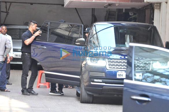 Ranbir Kapoor & Karan Johar snapped outside Dharma office