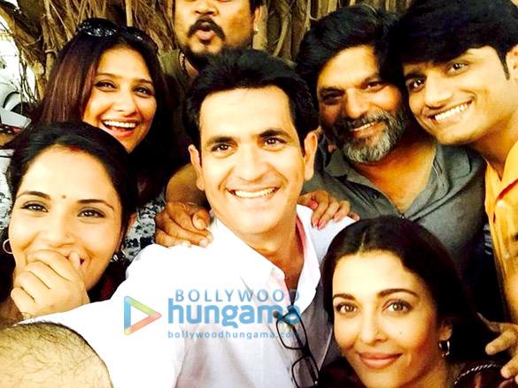 Richa Chadha, Vanita Omung Kumar, Omung Kumar, Aishwarya Rai Bachchan