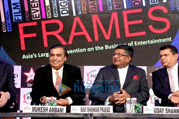 Mukesh Ambani & Aditi Rao Hydari inaugurate FICCI Frames 2016