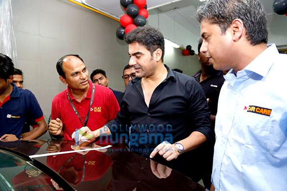 Arbaaz Khan graces the launch of 3M Car Care