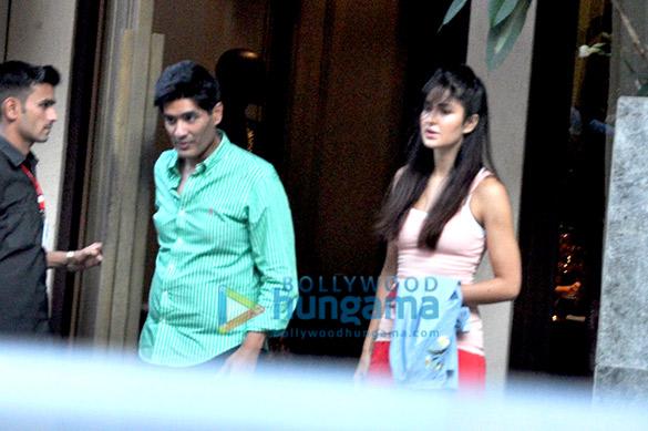 Katrina Kaif snapped post fittings at Manish Malhotra's store