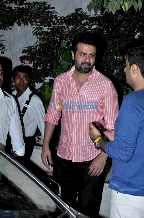 Saif Ali Khan, Kareena Kapoor Khan & Dia Mirza snapped post dinner at Olive