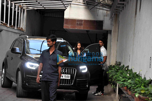 Varun Dhawan & Alia Bhatt snapped post a meeting at Karan Johar's office