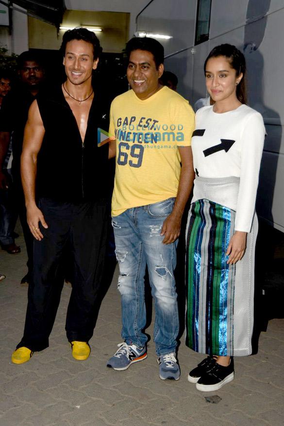 Tiger Shroff, Sabbir Khan, Shraddha Kapoor