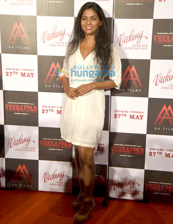 Trailer launch of 'Veerappan'