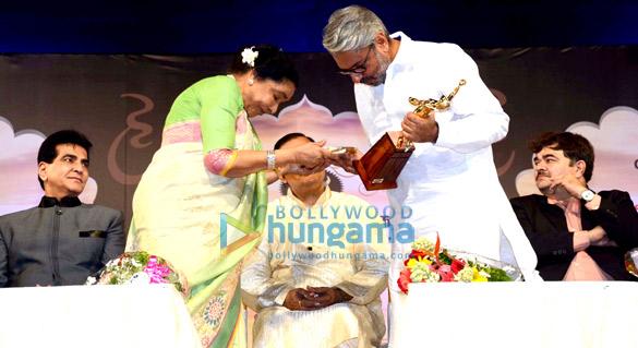 Jeetendra, Asha Bhosle, Sanjay Leela Bhansali, Prashant Damle