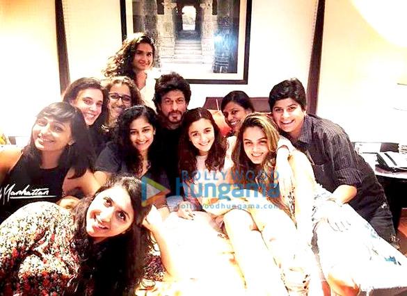 Gauri Shinde,  Shah Rukh Khan, Alia Bhatt