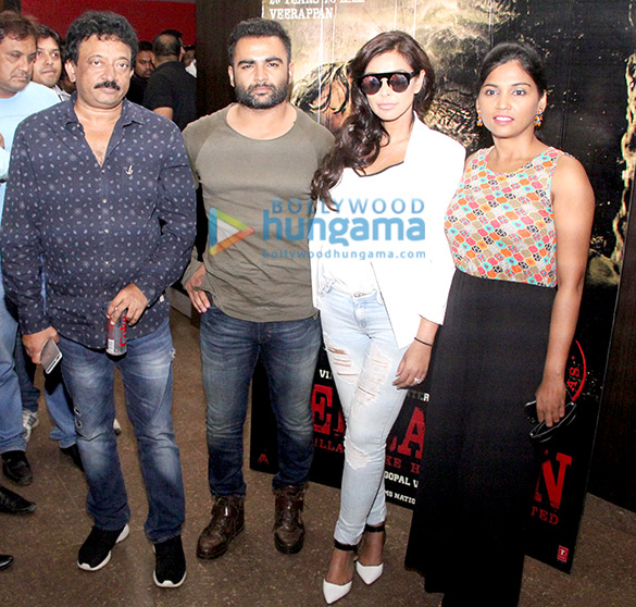Promotion of 'Veerappan' at Carnival Cinemas in Indore