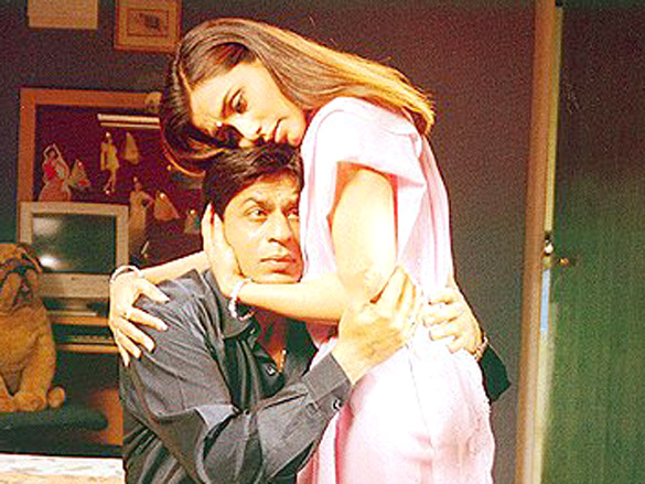 Movie Still From The Film Chalte Chalte,Shahrukh Khan,Rani Mukerji