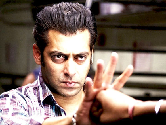 Movie Still From The Film Wanted,Salman Khan