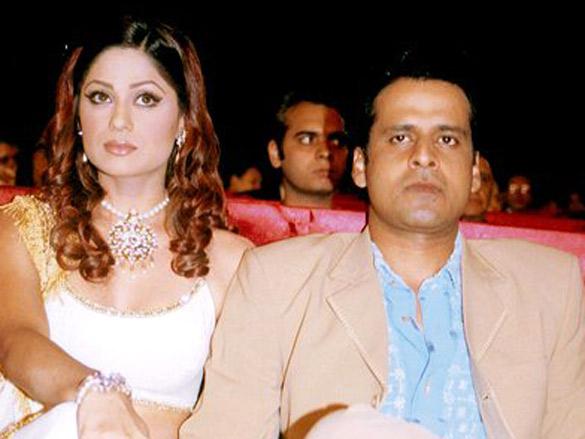 On The Sets Of The Film Bewafaa Featuring Shamita Shetty,Manoj Bajpayee