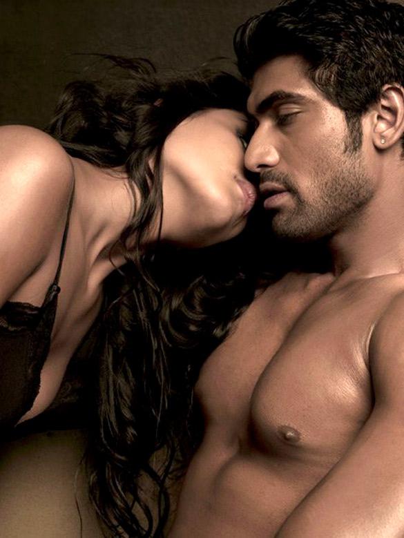Movie Still From The Film Department,Nathalia Kaur,Rana Daggubati