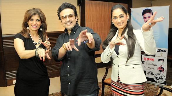 Adnan Sami at Le Club Musique's exclusive 'Bheegi Bheegi Raat Mein' event