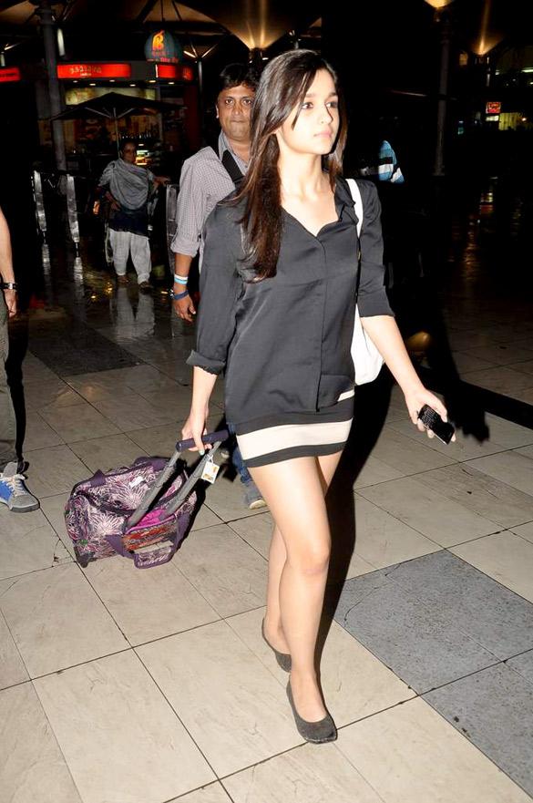 Priyanka Chopra and others snapped at the Airport