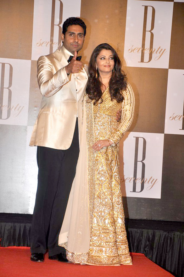 Amitabh Bachchan celebrates his 70th birthday in grand style