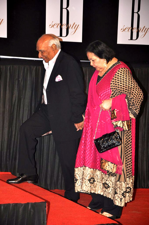 Yash Chopra, Pamela Chopra