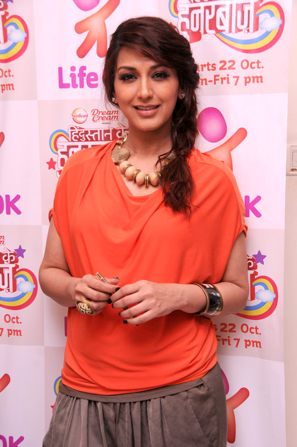 Sonali Bendre signs petition for 'Hindustan Ke Hunarbaaz'