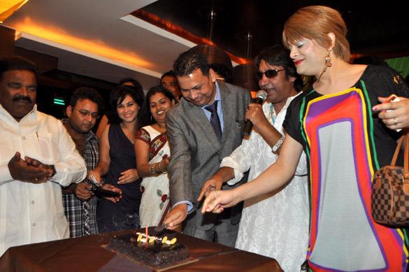 Anil Mishra's birthday bash at 7flags