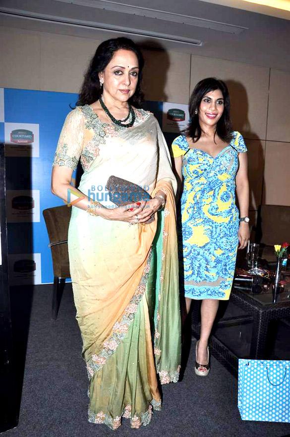 Hema Malini launches Namita Jain's 'Sexy @ Sixty' book