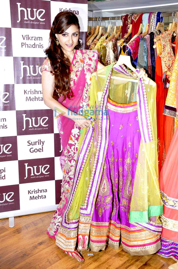 Soha Ali Khan at 'Hue' launch
