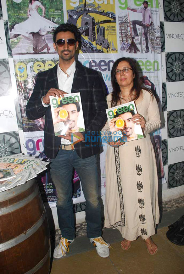 Kunal Kapoor at Green Life magazine launch