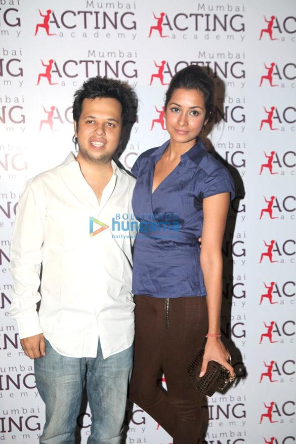 Geeta & Sofia Hayat at Luv Israni's Mumbai Acting Academy launch