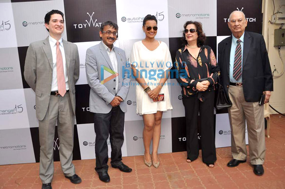 Sonakshi & Milan grace the Sir HM Mehta trophy