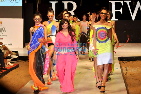 Babita Malkani's show at India Resort Fashion Week 2012