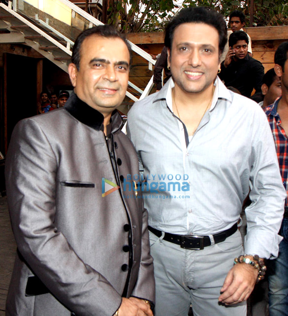 Govinda & Narmmadaa at Bright Advertising Awards announcement