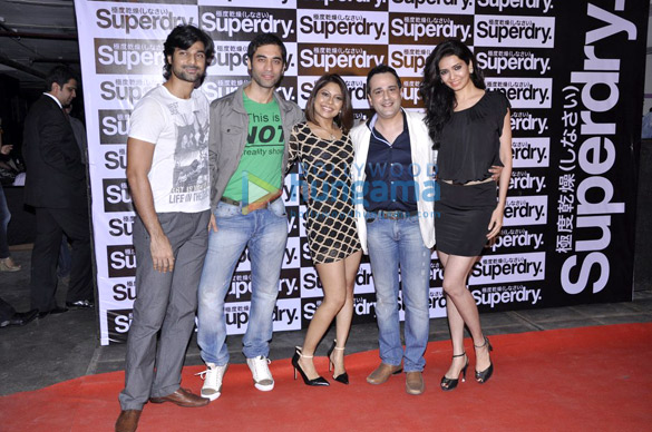 Launch of 'Superdry'