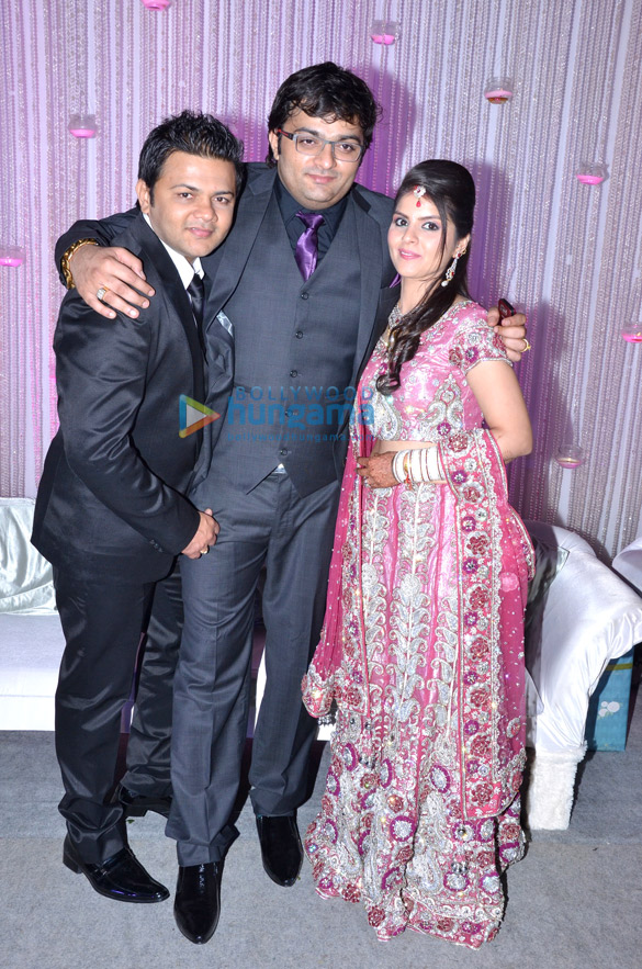 Gaurav Parikh & Shivani Arora's wedding reception