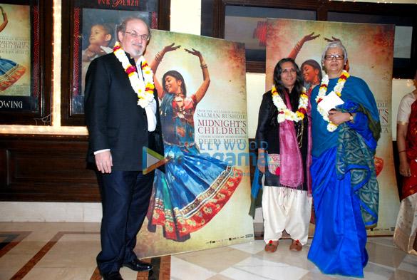 Salman Rushdie, Deepa Mehta, Reeta Devi