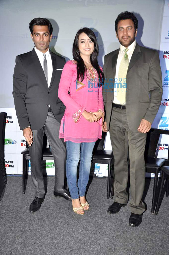 Press conference of ZEE TV's serial 'Qubool Hain'