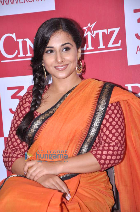Vidya Balan launches Cine Blitz 39th anniversary issue