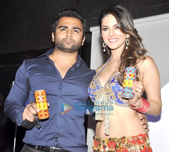 Sunny Leone endorses Sachiin Joshi's XXX energy drink
