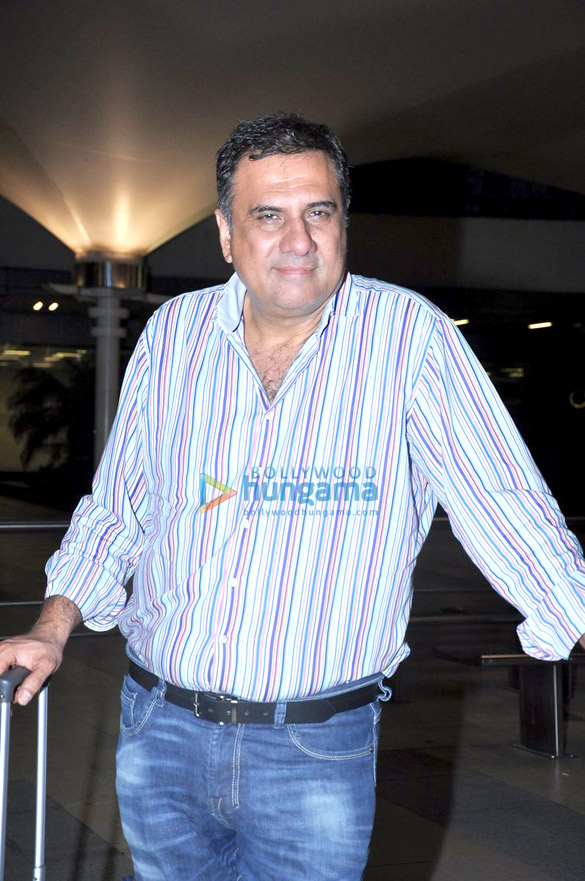 Boman Irani snapped at the airport