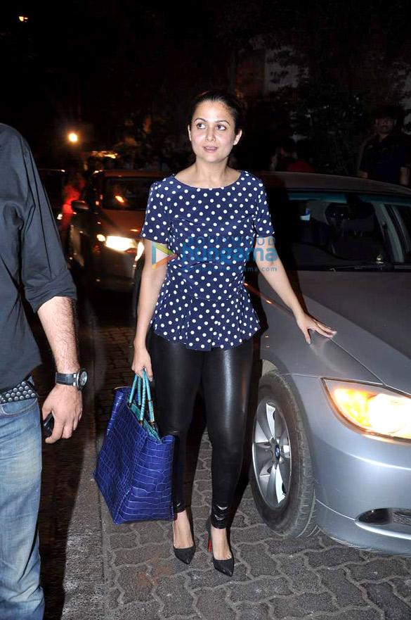 Amrita Arora snapped in Bandra