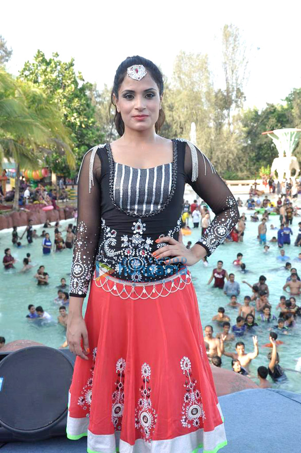 Richa Chadda at Water Kingdom